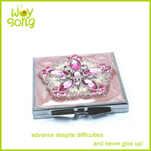 Square Cosmetic Mirror Painting Designs Pocket Hand Mirrors Cheap Small Compact Mirrors Bulk