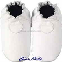 alibaba 2015 black white color match leather fancy infant shoes wholesale