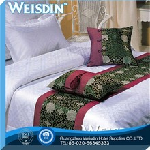 Plain wholesale china bed cover silk wool