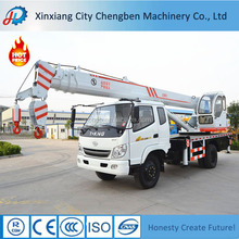 24m Lifting Height Conventional Pickup Truck Crane 6 ton