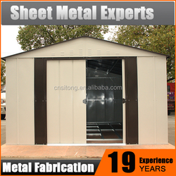 Collapsible Storage Garden and Warehouse Shed Metal Steel Barn House