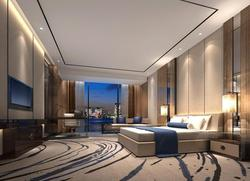 HL 0004 Modern King Size Headboard Hotel Bedroom Furniture for Sale