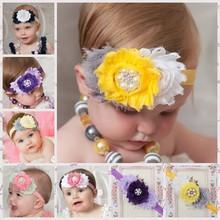 moda banda de pelo para las niñas de la perla del bebé que bandas para el cabello bebé de pelo bandas para la cabeza