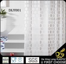 eva 3d peva pvc cuarto de baño de colores cortina de la ducha