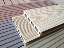 Wood plastic composite,resistence to moisture and termites solid wpc flooring