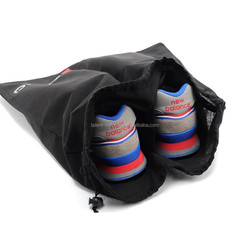 Cotton golf shoe bag with parting lines