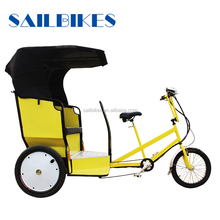 rental business electric auto rickshaw tricycle with passenger seat