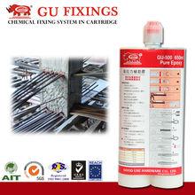 heavy curing duty liquid hardener for epoxy resin resistant glue