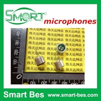 SmartBes~Free shipping ~100pcs/lot Microphones with pin/lead foot 9*7mm capacitance electret microphone sensitivity 52D