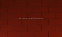 Modified single layer red asphalt shingles price