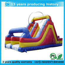 2014 china commerical inflatable slide with obstacle courses
