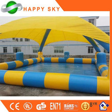2015 durable and popular customize above ground pool, inflatable kids pool, inflatable slip and slide