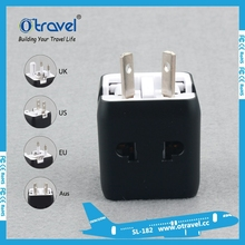 World convertion plug connector with UK EU US AU plug travel adapter using in more than 150 countries