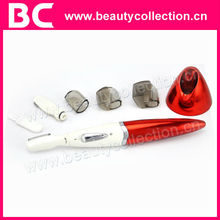 BC-1236 portable multifunctional hair shaver for lady