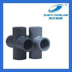 CPVC fittings,CPVC cross for chemical industry