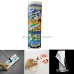 100% Bamboo fiber Towels, Dots roll cleaning wipes
