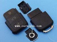 New product &Direct factory VW 3 buttons remote case for Car Keys
