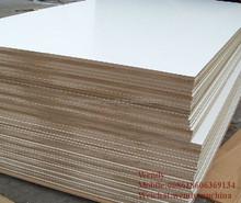 white laminated melamine mdf board