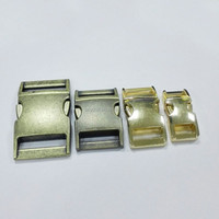 hot sale popular variuos size meta dog collar buckle/side release buckle for pet collar/colored paracord buckle