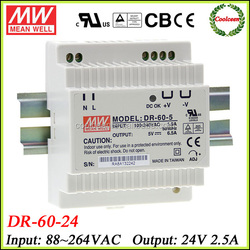 Meanwell DR-60-24 din rail switch mode power supply