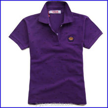new polo shirt design embroidery high quality cotton wholesale couple polo shirt