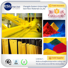 Top quality exterior outdoor Polyester PE Powder Coating for highway construction traffic application