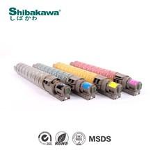 shibakawa brand toner powder filled in new cartridge for ricoh copier mpc4500