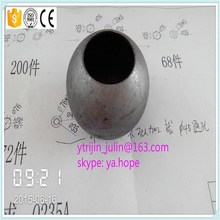 cheap carbon steel ball with hole for handail