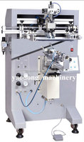 famous brand high productivity silk screen printing equipment on bottles
