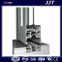 china factory supplying Easy assembly aluminum profile for window frames