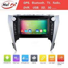 new coming car radio dvd player for car for Camry 2012 with built-in wifi support reversing camera