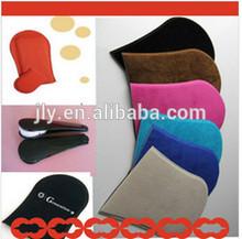 Regalo de la promoción!! 2014 nuevos cosméticos de alta calidad de curtido guante de esponja