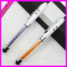 Hot selling chinese promotional lady ball pen for women,advertising ball pen with light