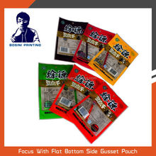 Plastic retort pouch for food packaging bag