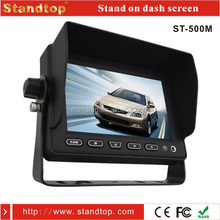 2015 New Cctv 3ch 5inch Lcd Screen Monitor For 3 Channel Bus Vehicle Security Dvr