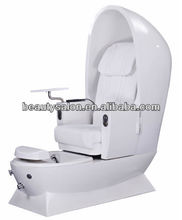 Egg shape cheap foot spa pedicure chair with auto massage EPC031