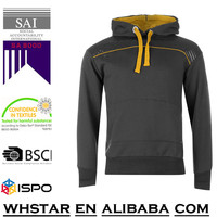 Sportswear Factory OEM Supply Classic Fashion Design Custom Pullover Plain Men Sports Fleece Hoodie