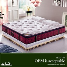 knitted fabric dunlop emperor mattress