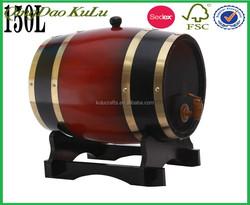 vintage wooden wine bucket,multi-purpose wooden storage bucket for sale
