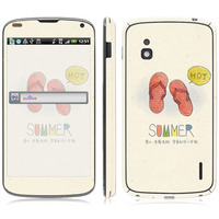 Summer Shoes Vinyl Screen Protector For LG Series, for E960 sticker.