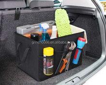 Frente y parte posterior de asiento de almacenamiento de la bandeja del asiento car boot organizador, organizador caja