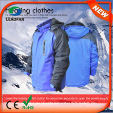 HJ08 2015 Winter Heated Jacket,Winter Heated Clothes,Heating Clothes