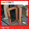 aluminum cladding wooden window with stainless steel screen