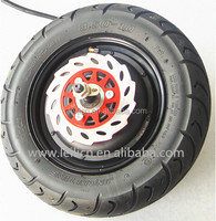 48v-72v 10inch 800w brushless gearless hub motor kit