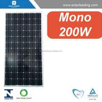 200w mono solar panel price with high efficiency