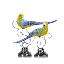 polyresin statue article lucky bird figurine sculpture