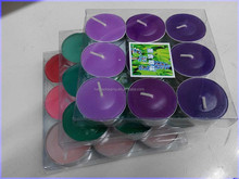 Blister soy wax candle packaging box