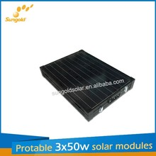 150w 12v portable solar panel charger outdoor
