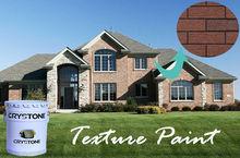 Crystone Acrylic Green Paint Imitation Brick Stucco Wall Painting