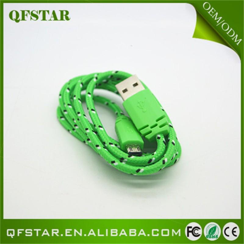 Новые Индивидуальные 1 м/2 м/3 м красочные мобильного телефона Mini-USB кабели, плоский плетеный кабель для передачи данных мобильный телефон для iPhone 7 кабель зарядного устройства